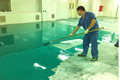 water based underground car parking Flooring paint