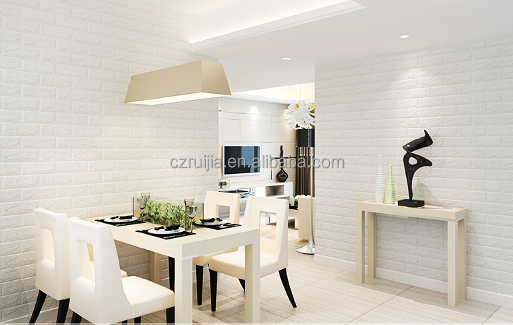 DIY self adhesive 3D brick wall sticker for wall and home decoration