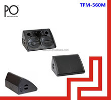 professional stage monitor speaker 800w dual 12 passive monitor