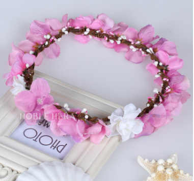 The Beautiful Bead Flower Wedding Garlands For Christmas Craft