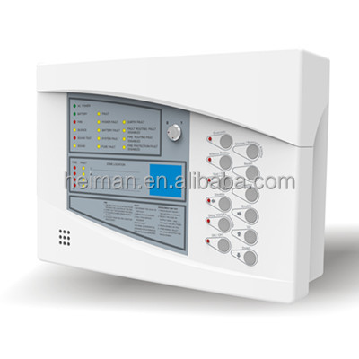 Heiman 2 wired Conventional VS est addressable fire alarm control panel