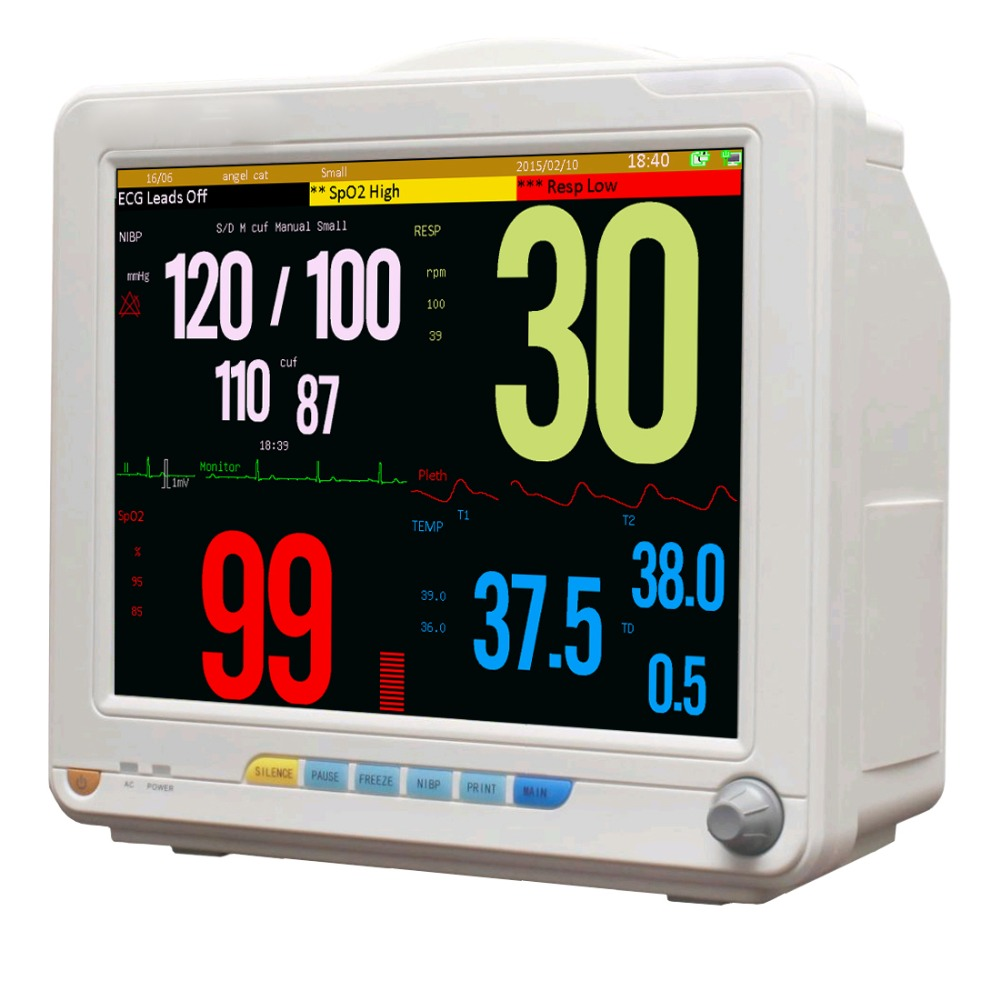 12 inch Multi-parameters Patient monitor/portable Patient monitor for sale