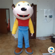 2015 New monkey mascot costume/animal mascot for adult