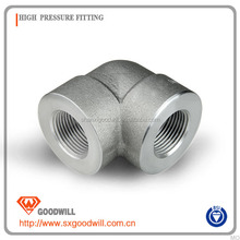 4 inch forged ASME high pressure fitting carbon steel 90 degree pipe elbow