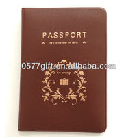 Fashion Design PVC Passport Case
