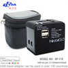 Worldwide Travel Adapter With Dual USB