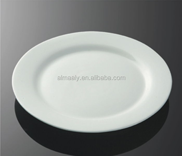 grade A ceramic 12 inches dinner plate,meat plate