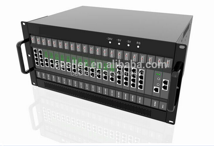 Best quality high 64 fxs port voip gateway for hotel