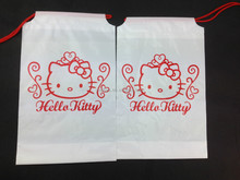 hello kitty print ldpe plastic mobile phone bag