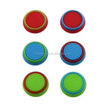 Factory Wholesale TPU Material Silicone Thumb Stick Grip 3D Joystick Caps Protect Cover for PS4/xbox one /xbox 360 Mixed Colors