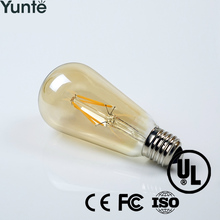 China factory 2700k 110v 240v antique edison bulb decorative filament bulbs steam punk pendant light