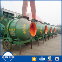Zhenheng Factory Price JZC Series Self Loading Loader Concrete Mixer for Sale