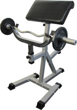 Standing Arm Curl Preacher Bench with Pivoting Arm Pad - CB-11