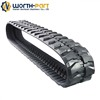 agricultural machine tractor rubber crawler track for JD8295RT