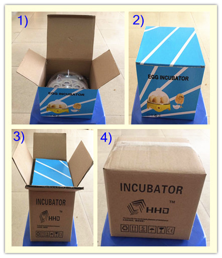 Portable automatic solar eggs incubator YZ9-7 auto controllable temperature for sale