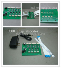 p600 Chip decoder for Epson Surecolor p600 cartridge chip decoder and empty refillable cartridges with auto reset chip