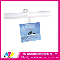 Chinese Factory OEM Design Supermarket Plastic Advertisement Dangler Retail Shelf Wobblers