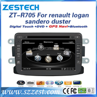 ZESTECH OEM car radio gps dvd for Renault logan/sandero/duster car accessories touch screen car radio with rearview camera 3G