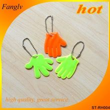 Promotional Plastic Reflective Key Chain 2014 brazil world cup promotion gift