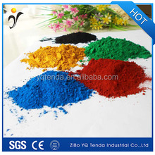 Red black yellow iron oxide pigment for sale