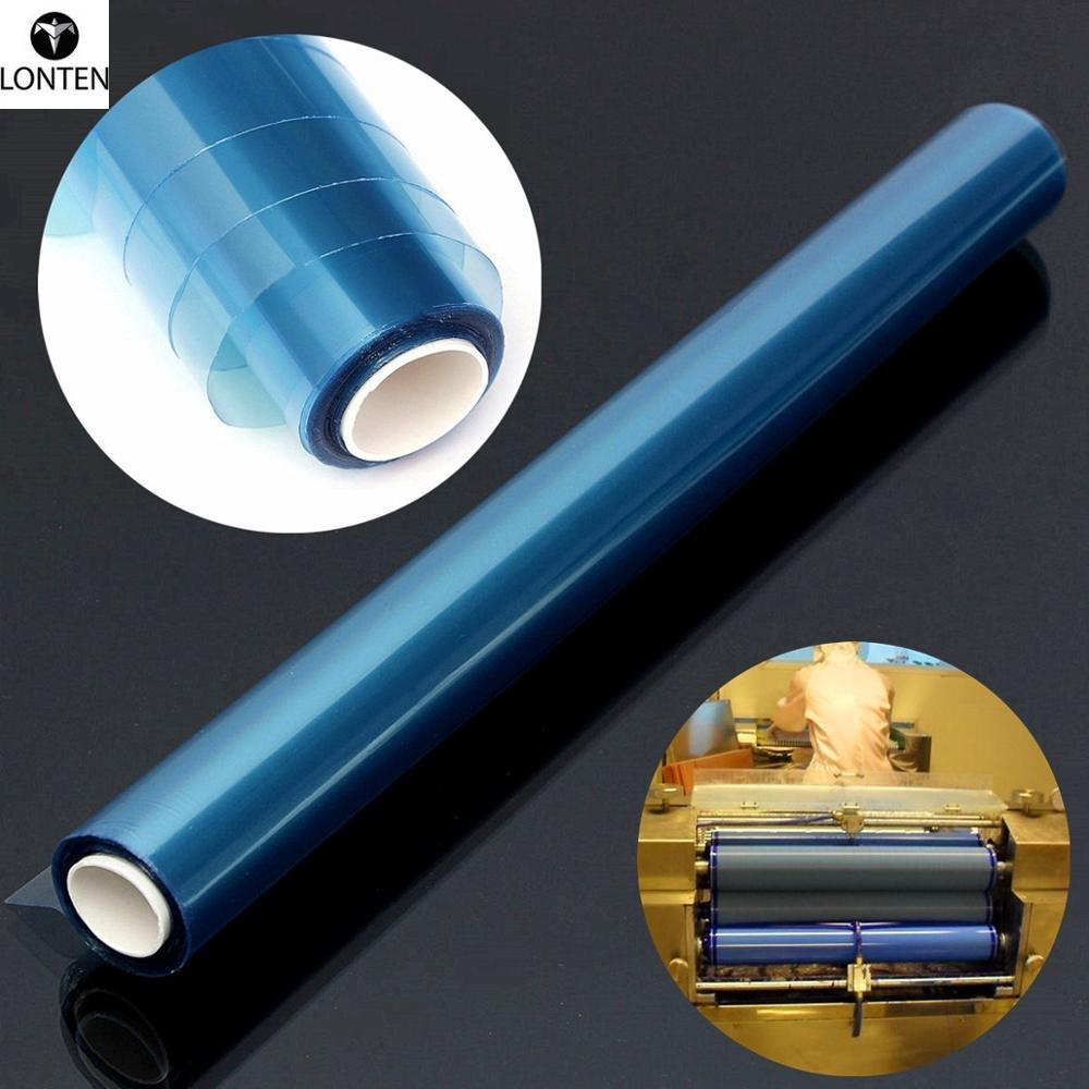 Lonten 2018 PCB Portable Photosensitive Dry Film for Circuit Production Photoresist Sheets 30cm x 5m For plating <strong>hole</strong> covering e