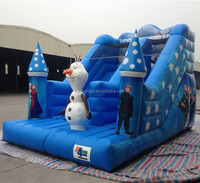 Frozen Olave Kids Slides Small Indoor Inflatable Snow Slide