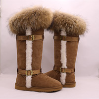 WG801Australia sheepskin boots, high quality winter snow shoes