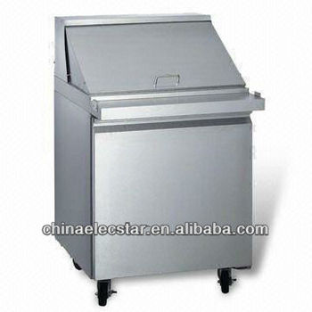 Salad Prep table Refrigerator with ETL Certification, CFC-free and Thermostatic Control
