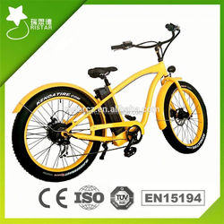 Newest Cruiser 36V 250W electric bike made in china for adults