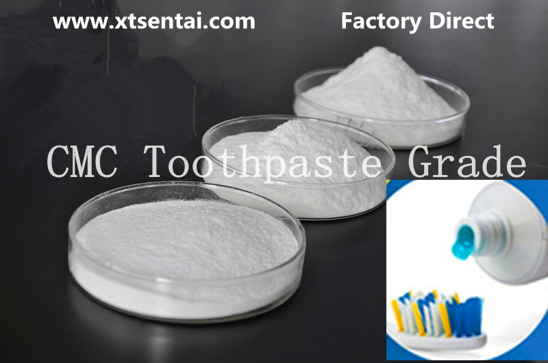 Toothpaste Grade CMC Sodium Carboxymethyl Cellulose