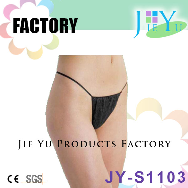 Disposable Nonwoven spray tanning thong