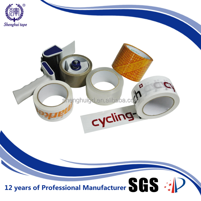 Without Bubbles Pressure Sensitive Without Noise Wrapping Bopp Carton Sealing Adhesive Tape