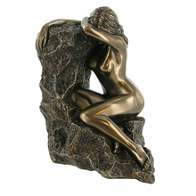 Cast bronze sculpture nude woman statue erotic bronze sculpture