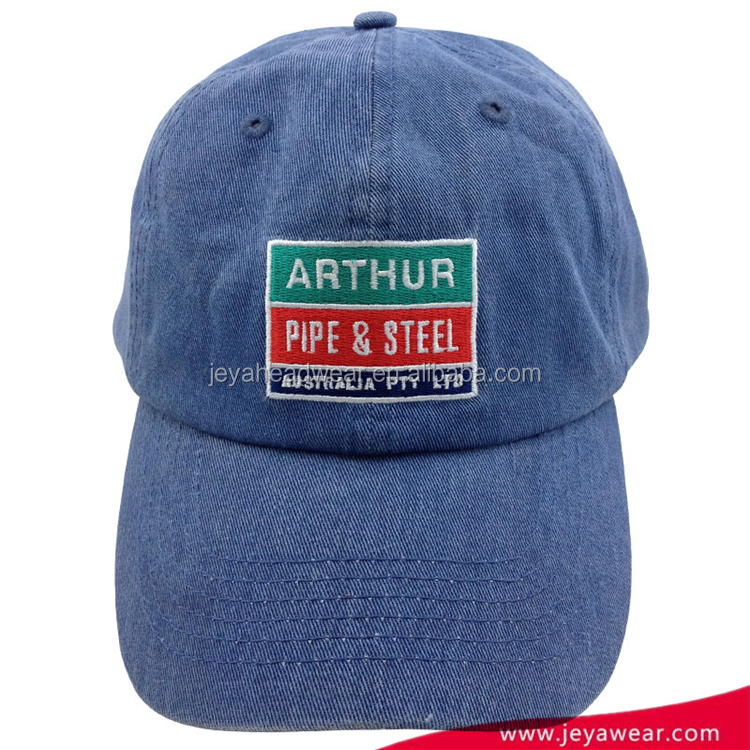 Volume manufacture fashionable design Label Available soft washed baseball cap