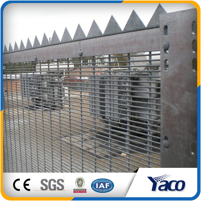 Various types high quanlity security fencing top of wall