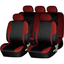 full set well fit Jacquard Fabric Classcial car seat cover