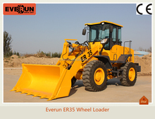 Qingdao Everun Brand New Condition ER35 Wheel Loader,Hydraulic Press Construction Machine With CE Approved