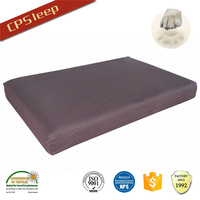 Purple Square High Quality New Design All Weather memory pet bed