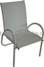 outdoor furniture adjustable feet in soft sling seat and back in high quality for wholesale