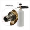 1L high pressure car snow foam gun for washer
