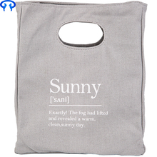 Wholesale promotional custom printed natural cotton canvas cloth carry tote shopping bag