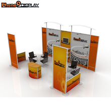Hot sale cheap 3m*6m aluminum portable trade show exhibition booth