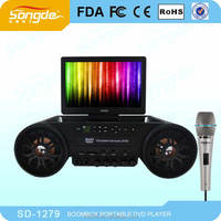 High quality rechargeable wireless karaoke player&loud outdoor speakers