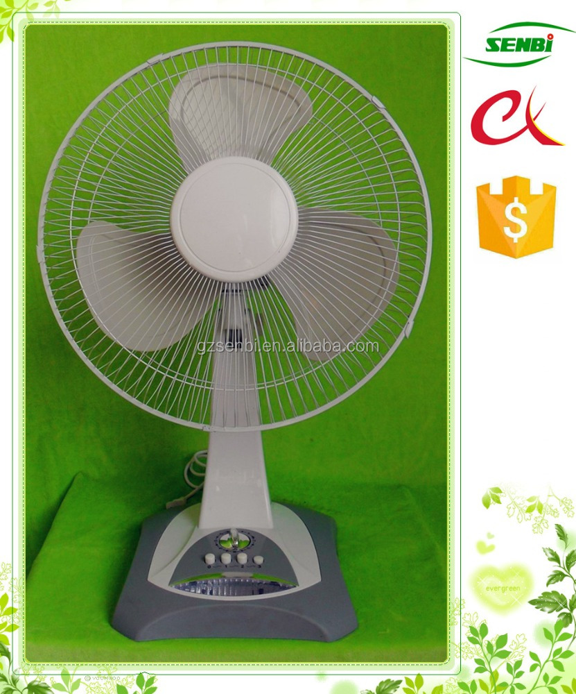 made in china wholesale ac fan 16'' ultra quiet desk table fan specifications