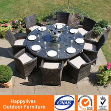 Happylives Brand Good Quality Hideaway Dining Table and Chair Set
