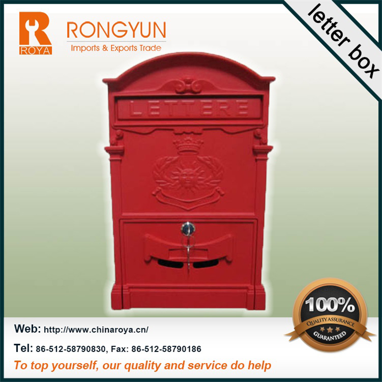 Aluminum mailbox,post box,steel letter box