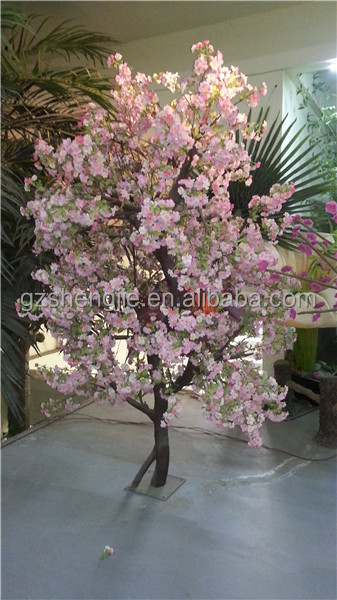 Artificial decorative silk flower trees large and small plastic tree artificial cherry tree us470g mightylinksfo