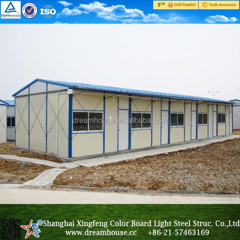 galvanized low cost prefab houseprefab building for labor de lujo