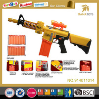 Hot sell child toys air soft gun toy rubber bullet gun