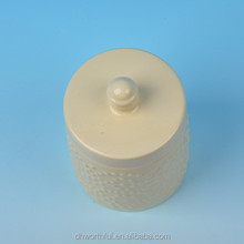 Morden design ceramic air seal food container